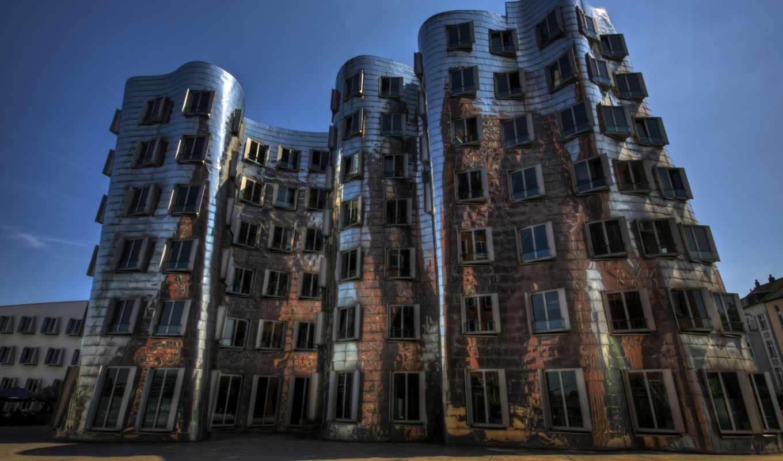 architecture, dusseldorf, германия,