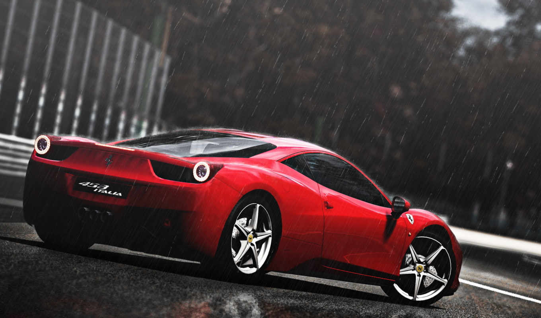 ferrari, italia, автомобили,