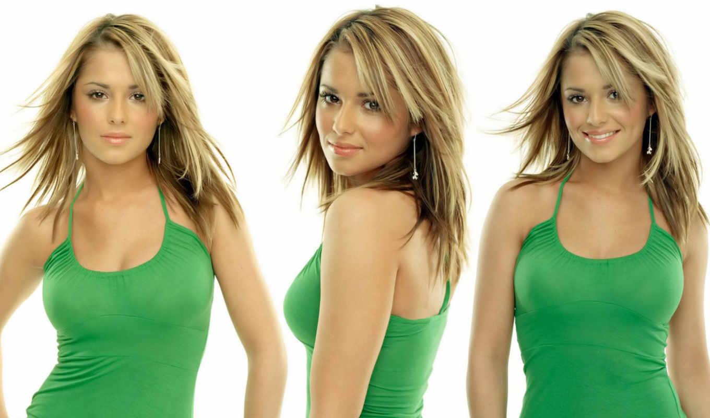 cole, cheryl, sexy, девушка, зелёный, girls, women,