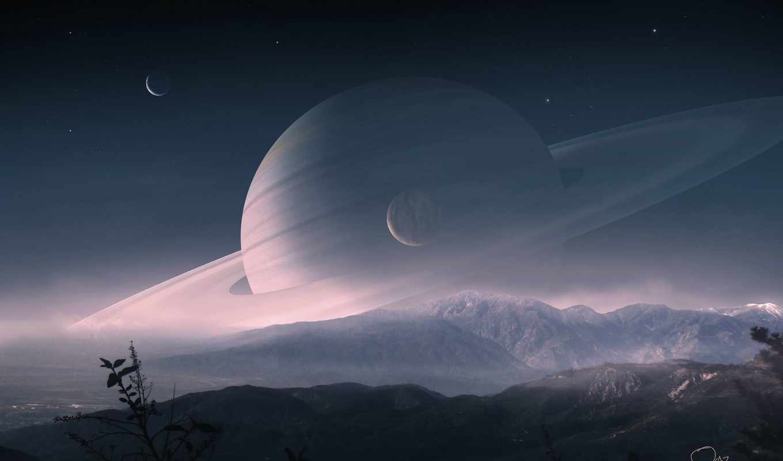space, saturn,