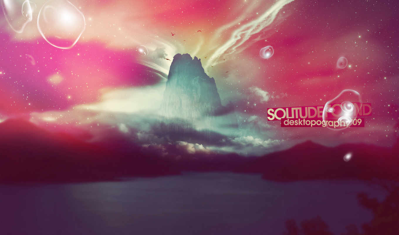 solitude, found, файлов, абстракция, design, стиль, яркие, надпись, not, ecolor, creative, desktopography,