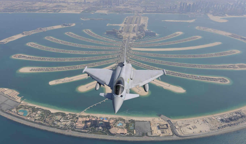 истребитель, многоцелевой, eurofighter, typhoon, четвёртого,,