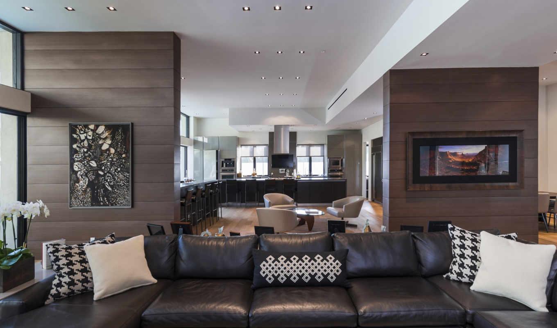 диван, кухня, интерьер, подушки, kitchen,