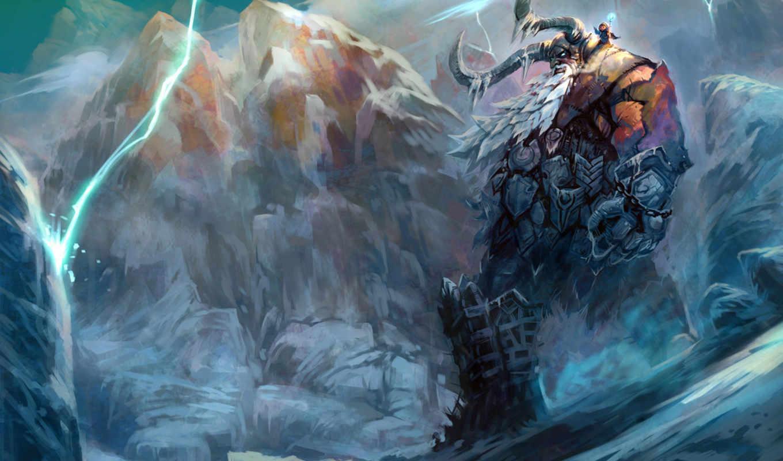 виликан, север, blizzard, воин, изображения,