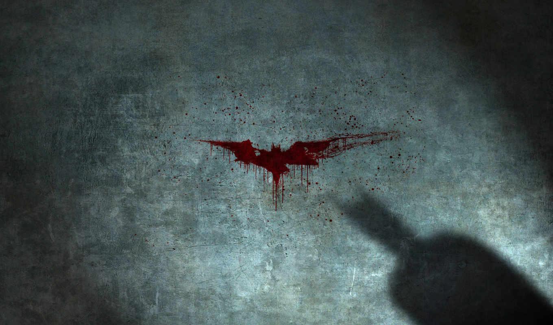 batman, red, bat,