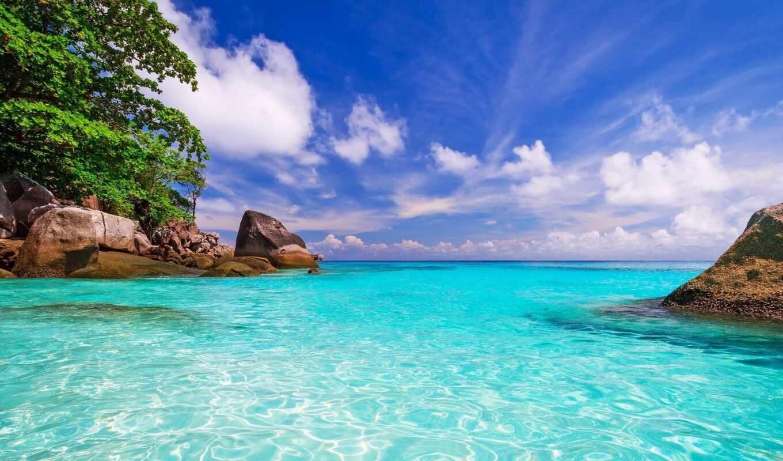 нов, природа, ocean, tropical, остров, небо, облака, name, количество, разделе, разное, торрент, пляж,