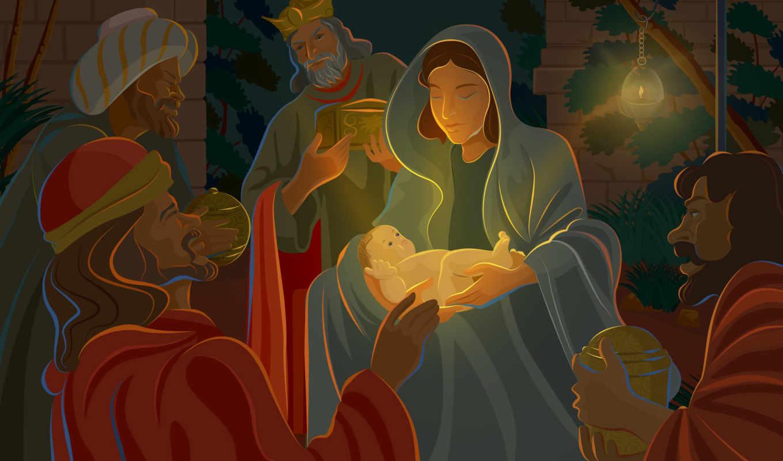 christmas, христа, birth, праздники, рождения, иисуса, днем,