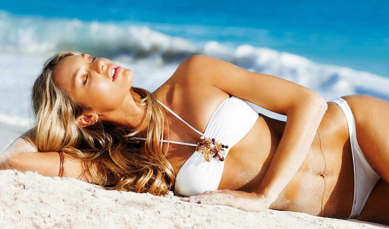 девушка, купальник, пляже, фотосессия, продолжительность, загорает, everything, мот,