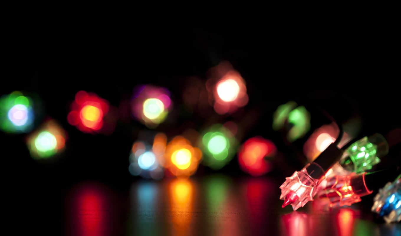 фонарики, год, новый, christmas, огни, новогодние, праздник,