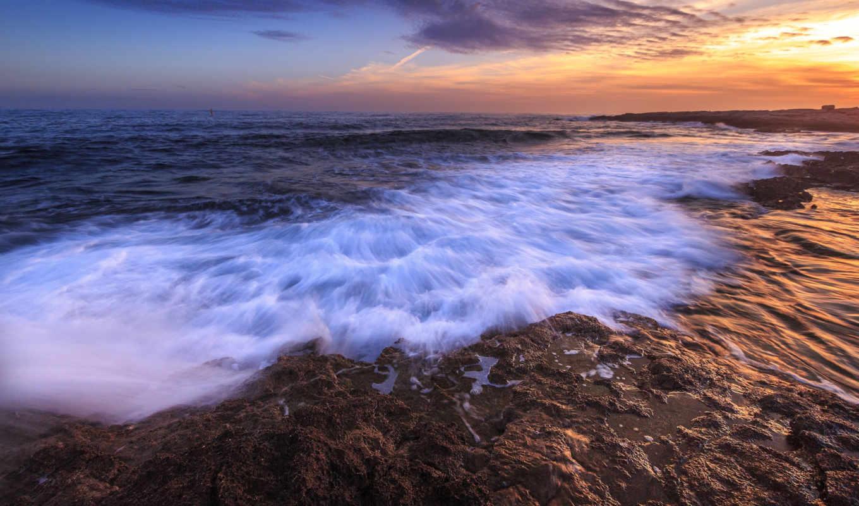 природа, admin, берег, море, landscape, прочитать, закат, more,