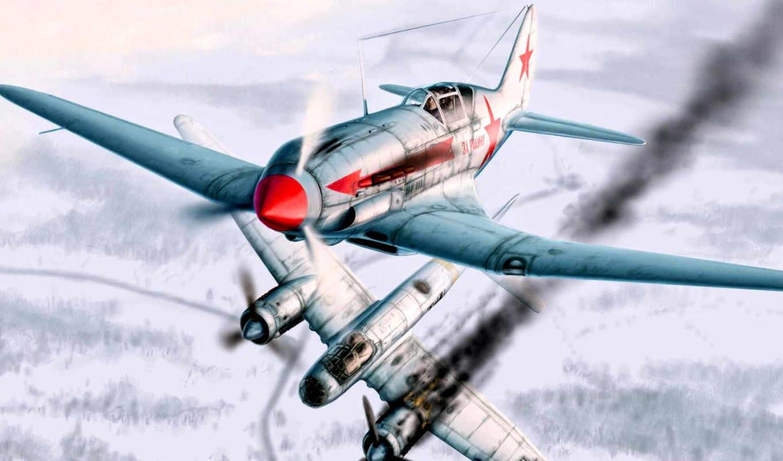 겨울, air, aircraft, winter, combat,
