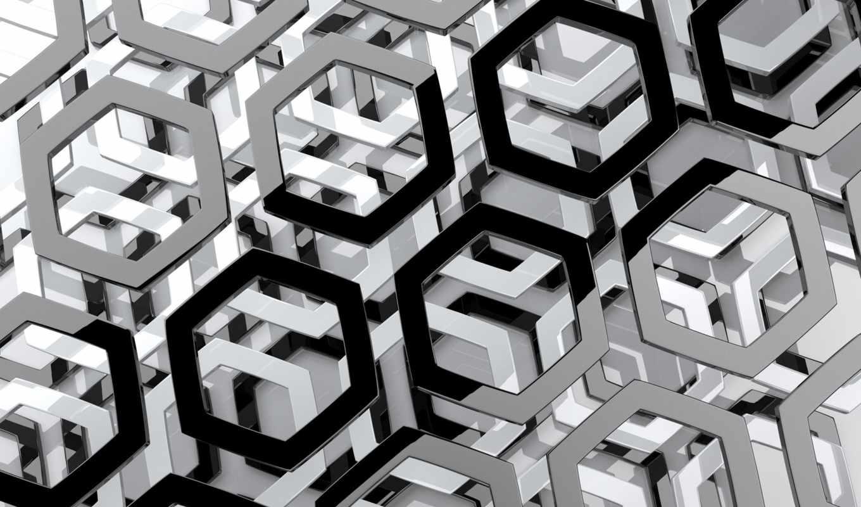 фигуры, геометрические, абстракции, орнамент, изгибы, электролиний,
