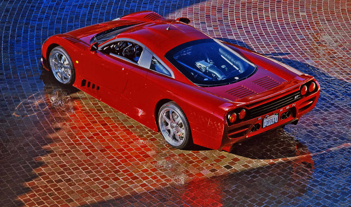 saleen, cars, red, car,