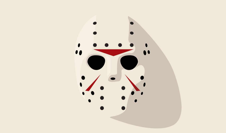 friday, хоккеист, джейсон, маска, просмотреть,