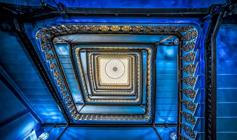 staircase, brighton, blue, funky, grand, flickr, hotel, photos, david, grandhotel,