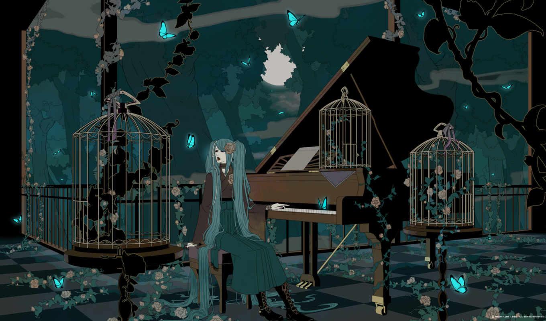 anime, hatsune, vocaloid, miku, future, resolution, картинка, similar, bilder, girl,