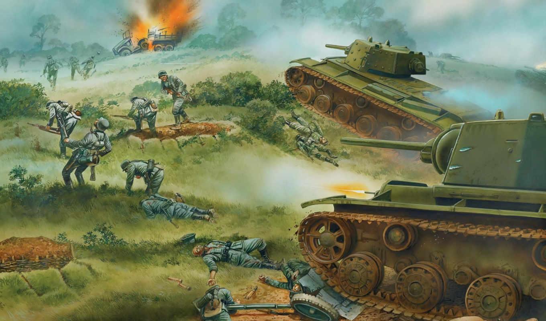 рисунки, великая, war, отечественная,, отечественной, великой, картинку, детей, рисунок,