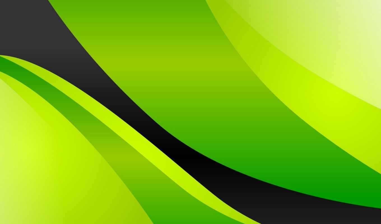 зелёный, abstract, линии,