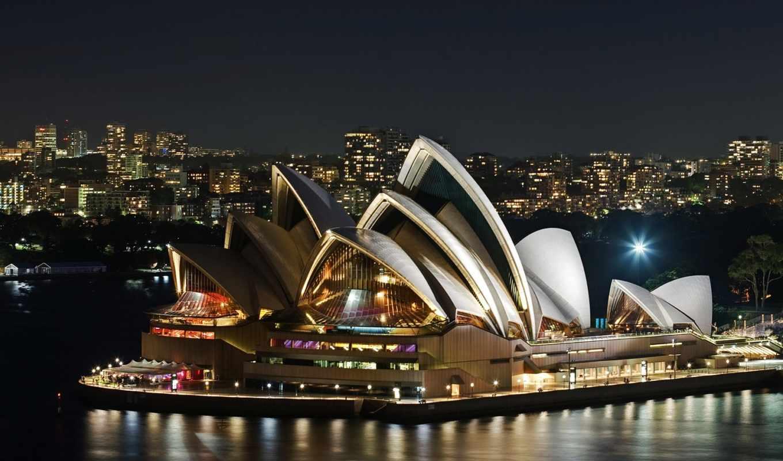sydney, house, оперы, париж, ночь, австралия, февр, рейтинг,