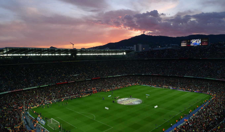 камп, nou, барселона, camp, футбол, стадион, испания,