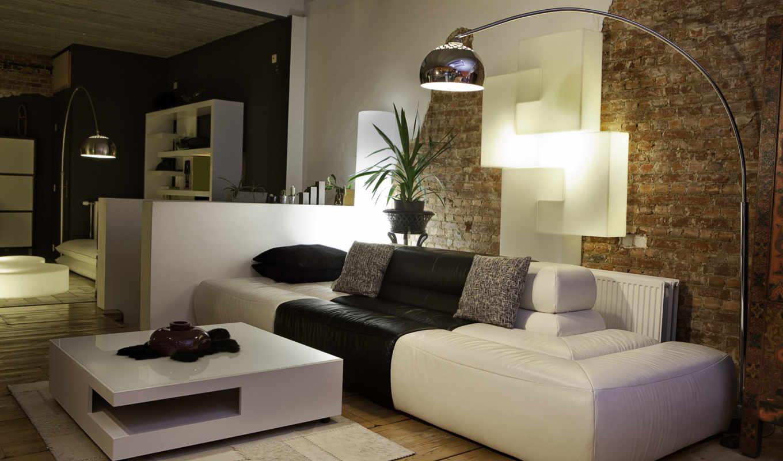interer, dizain, stil, комната, диван, квартира,