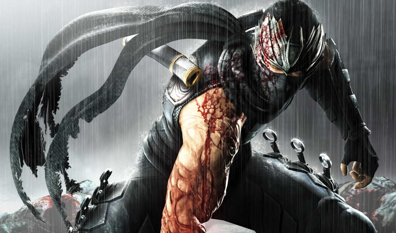 ninja, gaiden, game,