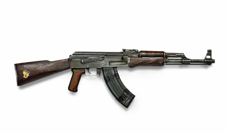 автомат, оружие, ак-47, калашникова, наклейка