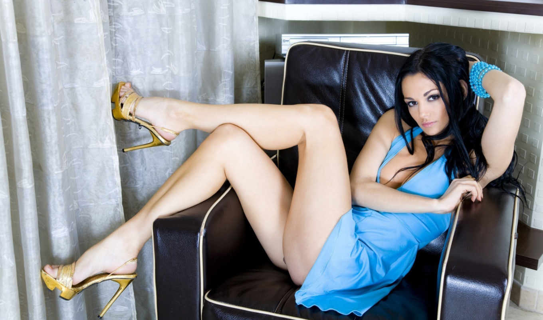 девушка, платье, devushki, ножки, девушек, взгляд,