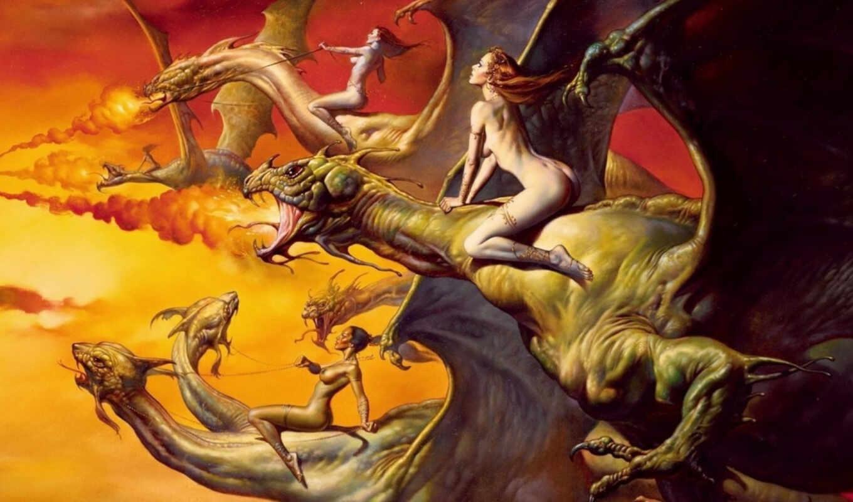 борис, валеджо, vallejo, валеджио, фентези, добавил, небо, дата, полет, всадница, дракон, драконы, картины, alt, roo, фотографии,