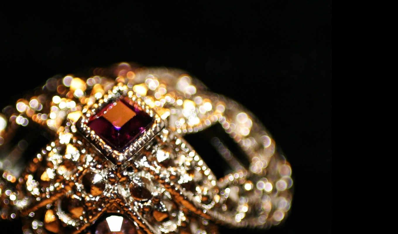 винтажное, кольцо, goodfon, makro, juwel,