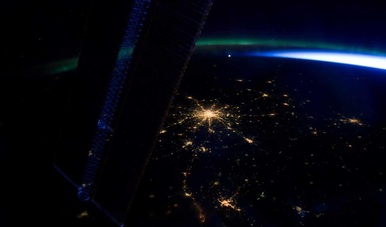 вид, москвы, центр, международной, космоса, космос, захватывающие, виды, космической, главная, станции,