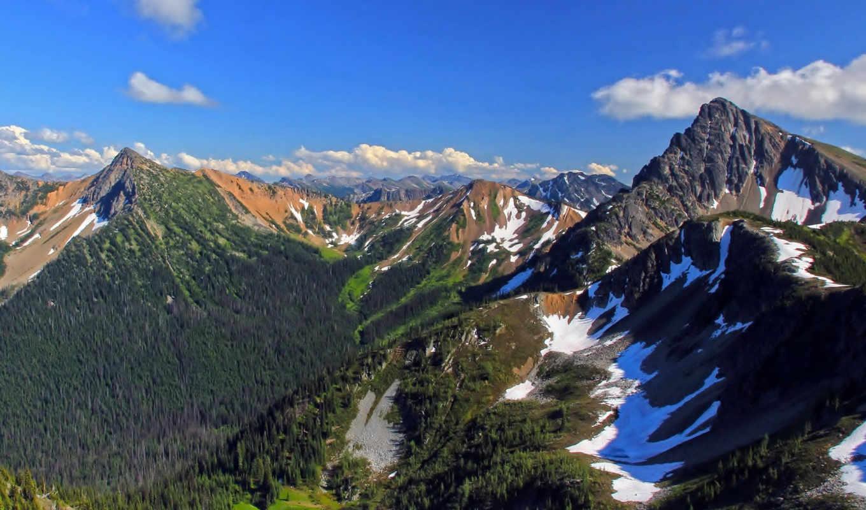 сша, природа, landscape, горы, небо, нью, york,