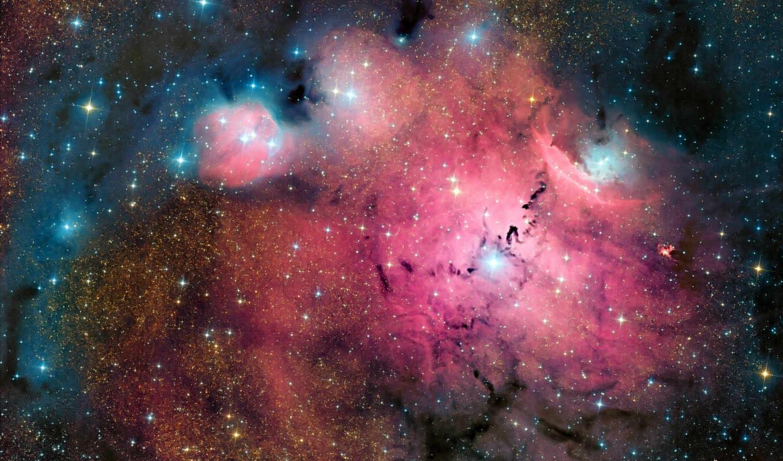 космос, туманности, космосе, звезды, космоса,