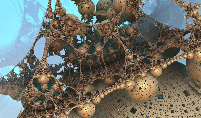 futuristic, fractals, rendering, страница, тема, картинкой, установить, windows, abstract,