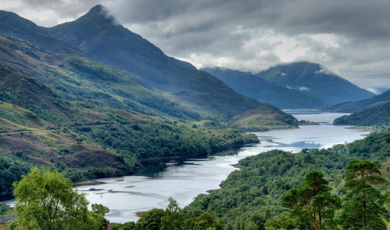 scotia, природа, красивый, гора