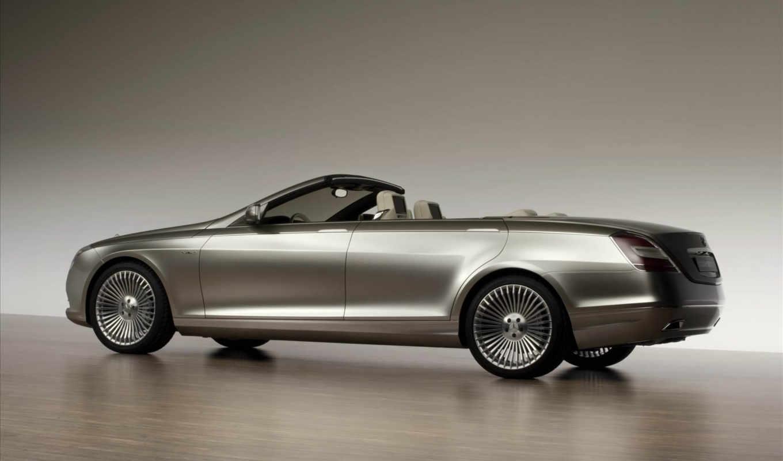 benz, ocean, drive, concept, кабриолет, авто, четырехдверный, angle, rear,