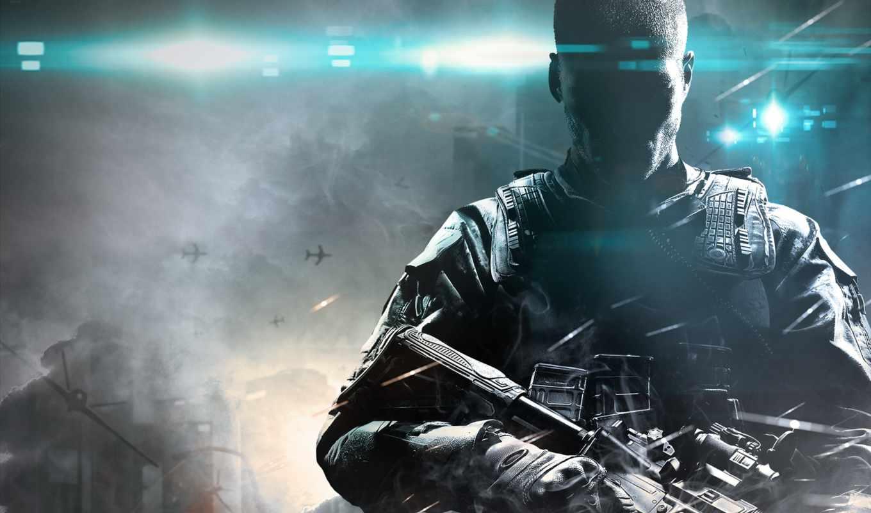 колл, black, ops, duty, пистолет,