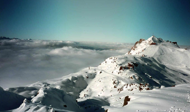 альпы, mountains, природа, desktop, landscape, франция, free,