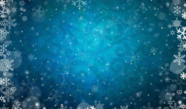 снежинки, узоры, зимние, картинка, розовый,