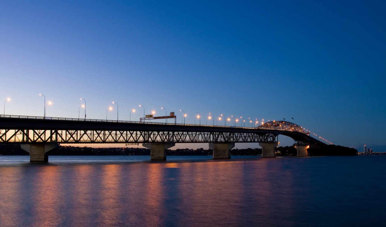 вечер, bridges, мост, огни, города, city, world, страны, нравится,