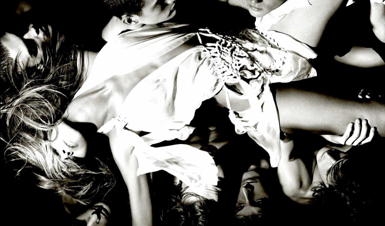 руках, devushki, devushka, девушек, красивых, черно-белые,