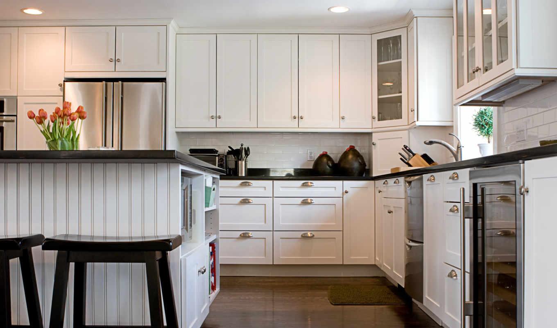 кухни, интерьер, шкафы, шкафов, изготовление, года, кухонных, потолка,