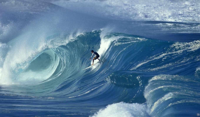 сёрфинг, волна, спорт, серфинга, ocean, surfer,
