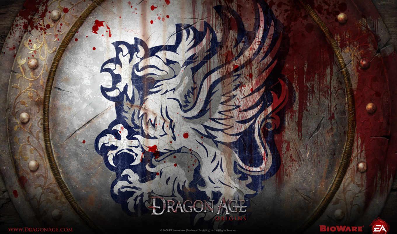 dragon, age, origins, grey, download, wardens, resolution, you, free, games, greywarden, what, video, crest, desktop,
