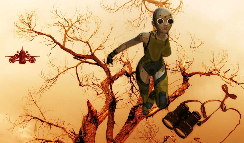 fotos, vectores, árbol, del, pasto, recursos, que, descarga, buscando, desierto, seco,
