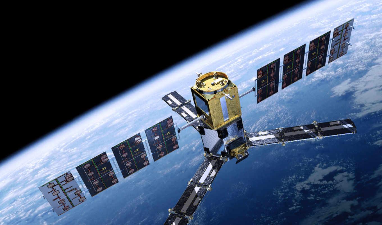 космос, планета, спутник, der, smos, картинка,