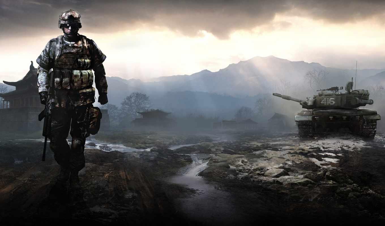 игра, солдат, танк, play, часть, gamewallpapers,