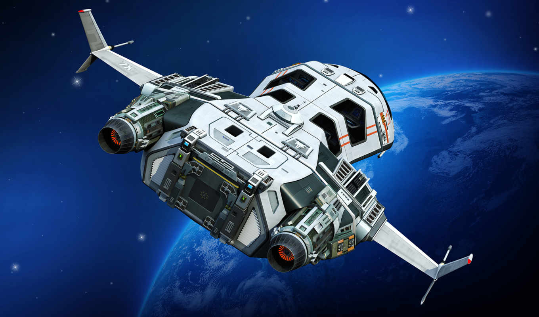 космический, корабль, разделе, корабли, планета,