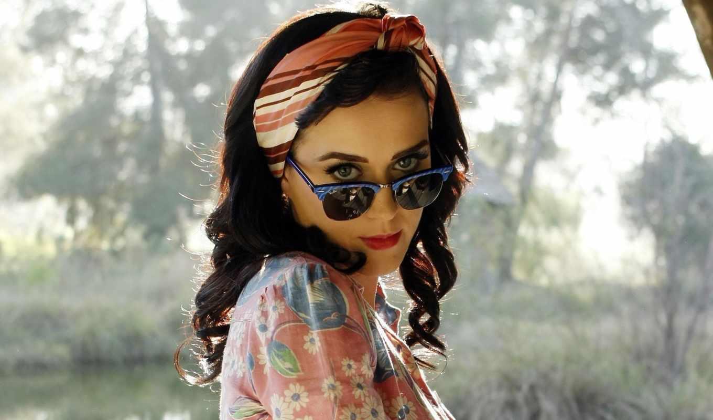 очках, девушки, очки, katy, брюнетка, perry, black, музыка, глаза, этом,