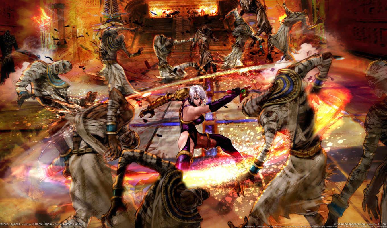 широкоформатные, soul, calibur, красивые, fantasy, soulcalibur, legends, разрешением, бесплатные,